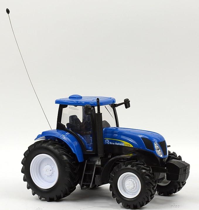 New Ray 88553 - Tractor New Holland de juguete (escala 1:24): Amazon.es: Juguetes y juegos
