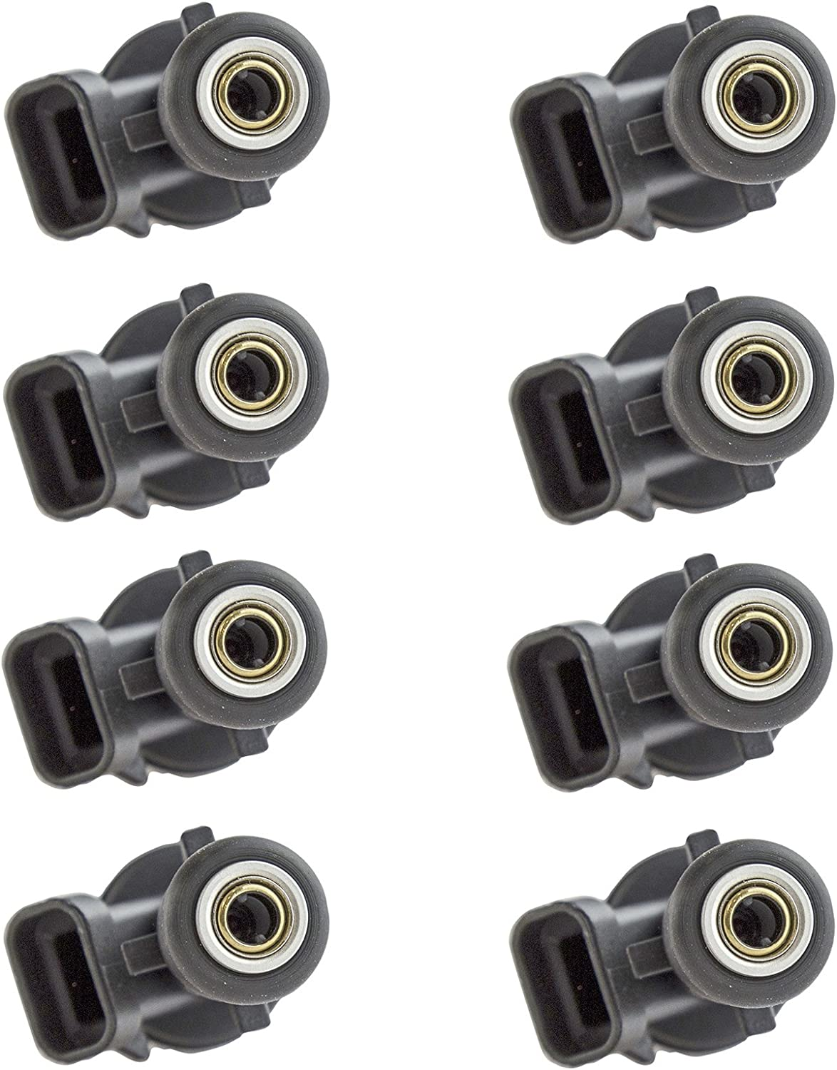 Brand MPI FI Fuel Injector Set of 8 Kit for Chevy GMC Pickup Truck V8