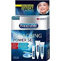 RAPID WHITE Bleaching Power Set, onmiddellijke tanden bleken, zonder waterstofperoxide, voor maximaal 7 niveaus wittere…