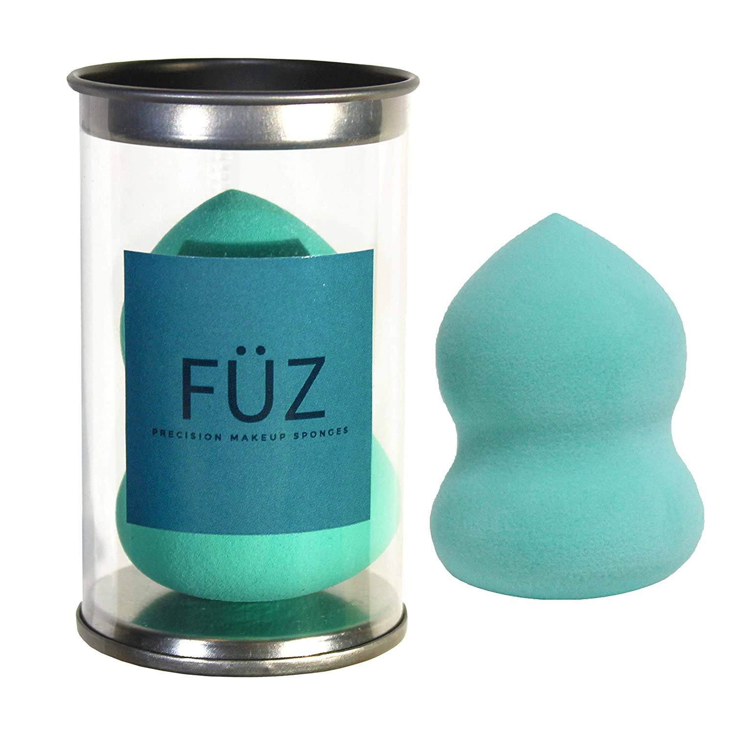FÜ Z Precision Makeup Sponge & Sponge Holder - by FÜ Z Canada. Designed to the exact specifications of World-Class Makeup Artists. Ultra-absorbent, lightweight, smart material, the FÜ Z Precision Makeup Sponge provides a professional sleek a