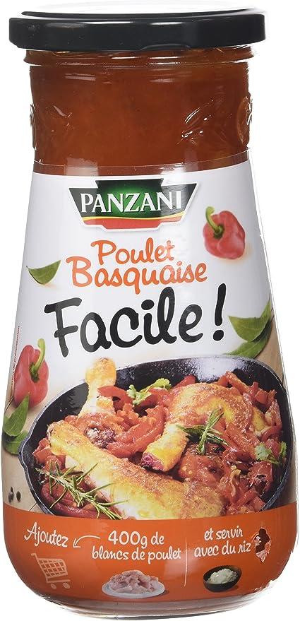 Panzani Sauce Pour Poulet Basquaise Facile 425 G Lot De 6 Amazon Fr Epicerie