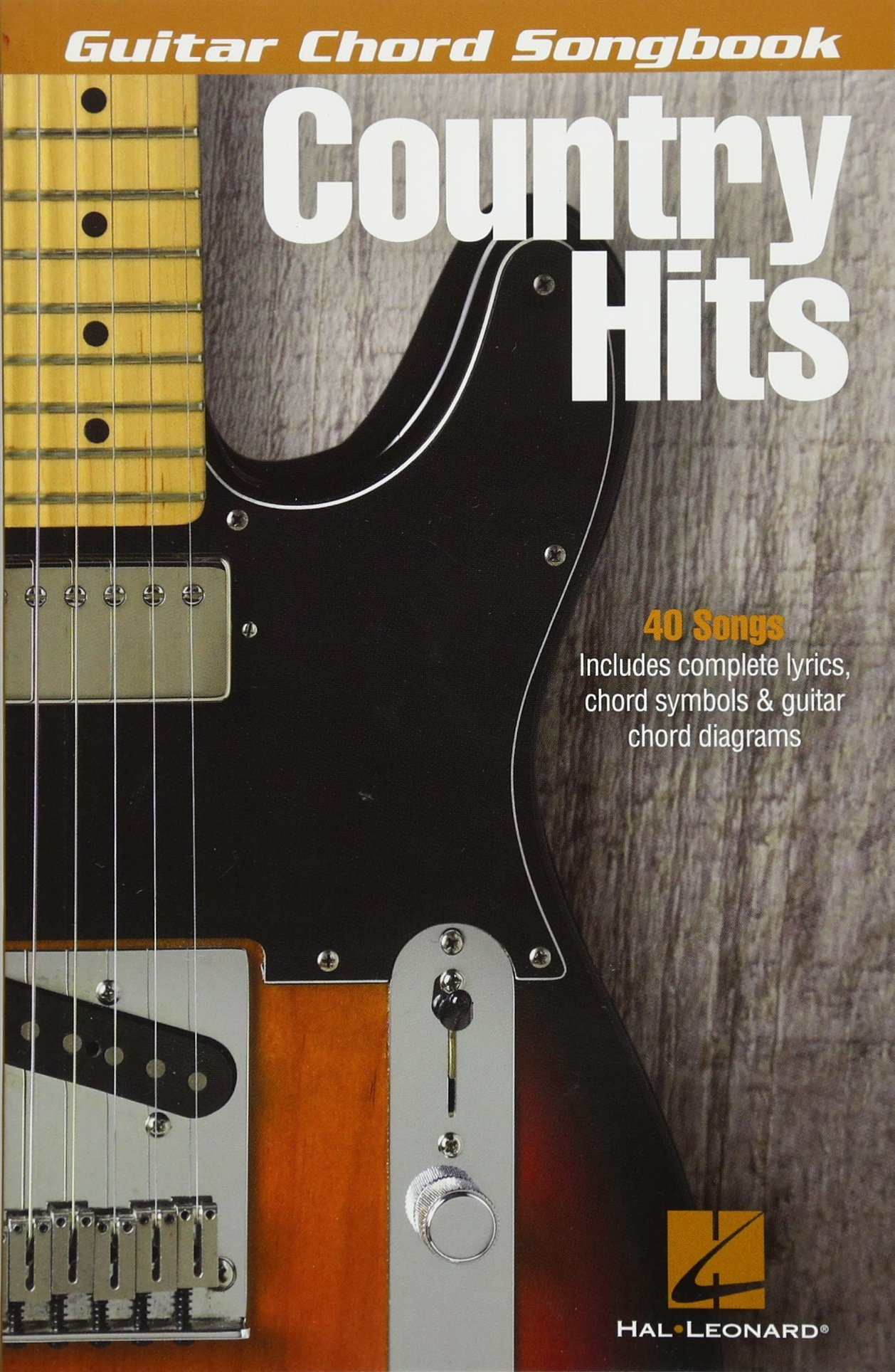 Amazon Country Hits Guitar Chord Songbook 9781495008177