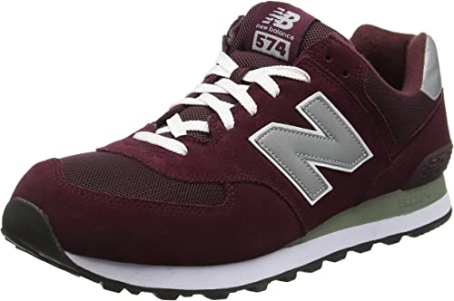 new balance bordeaux 574 uomo