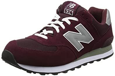 new balance uomo bordeaux 574