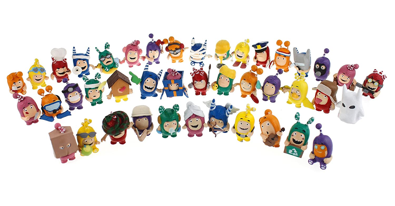 2fd2b9ccae8 Oddbods Collectible Figurine: Amazon.co.uk: Toys & Games
