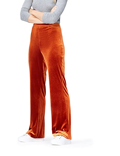 FIND Pantalones de Terciopelo para Mujer  Amazon.es  Ropa y accesorios 1d46b008cc11