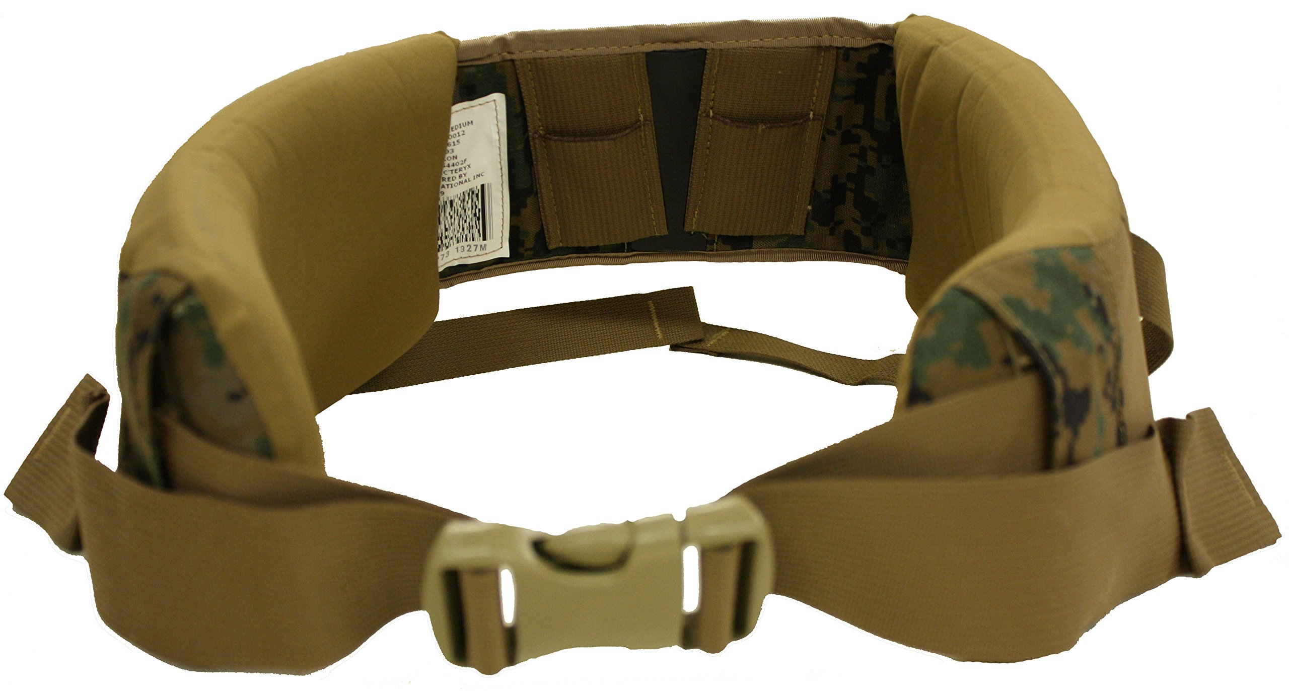 Military Outdoor Clothing Previously Issued US GI Marpat Hip Belt, OD Green, One Size