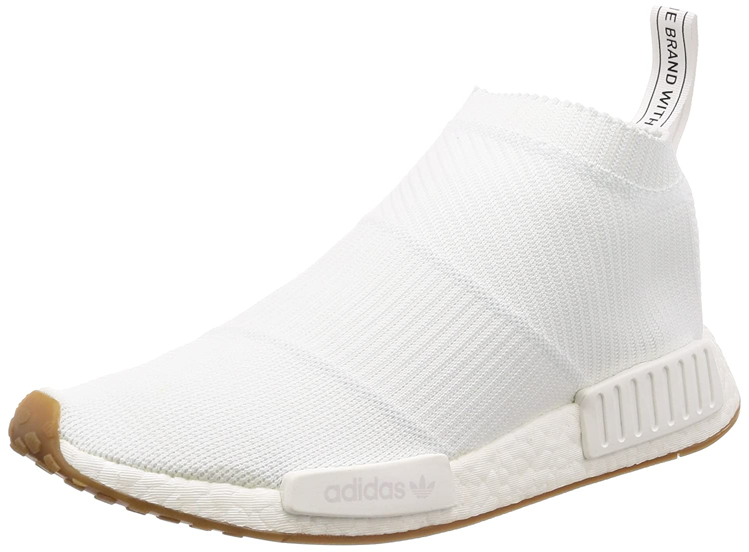 aaebd2ad3 adidas NMD City Sock CS1 PK Primeknit White Gum - White Gum Trainer Size  9.5 UK