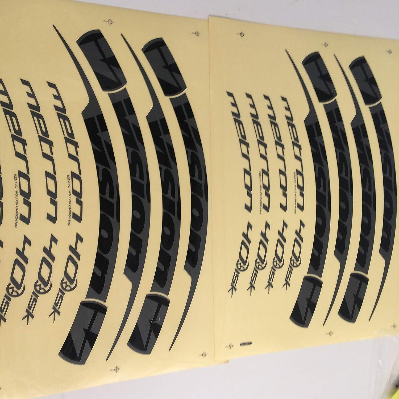 FSA Vision Metron Bicycle Disc Wheel//Valve Cover Sticker//Decal Set 752-1269