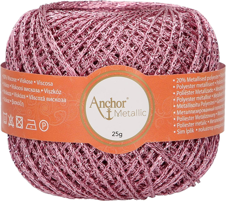 Anchor Artiste Metallic 4716400-00306 pink Effektgarn