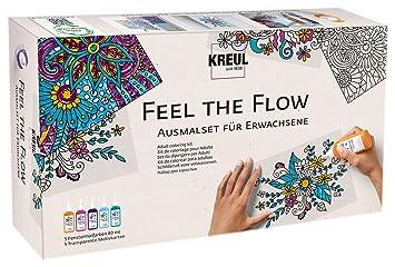 Kreul 22700 Feel The Flow Window Color Ausmalset Für Erwachsene
