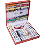 39pcs Premium Interchangeable Ladies Watch set- customized wristwatch -Color Vary