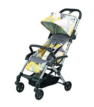 Bébé Confort Laika - Cochecito ligero, compacto, reclinable, plegable con una sola mano, 0 meses - 3,5 años, color amarillo urbano: Amazon.es: Bebé