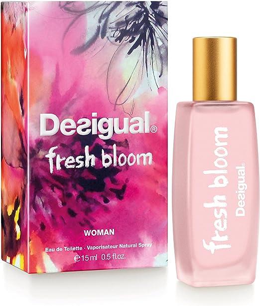 Desigual Fresh Bloom, Agua de tocador para mujeres - 15 ml.: Amazon.es: Belleza