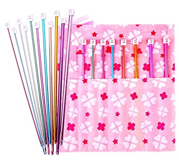 Afghan Crochet Hook Needles 11-Pack