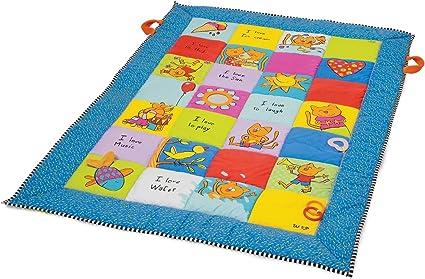 taf toys tapis d eveil i love 100 x 150 x 2 8 cm