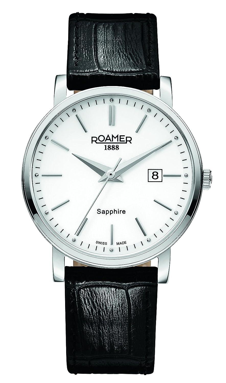 Roamer Herren-Armbanduhr Classic Line Analog Quarz 709856 SL1