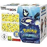 Console New Nintendo 3DS - blanc + Coque Pikachu pour New Nintendo 3DS + Pokémon Saphir Alpha