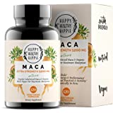 Organic Maca Root Supplement 1200mg – Gelatinized - Fast Superior Absorption - Powerful Peruvian Natural Energizer - Passion