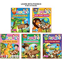 Learn with Phonics Book - Pack (5 Titles)