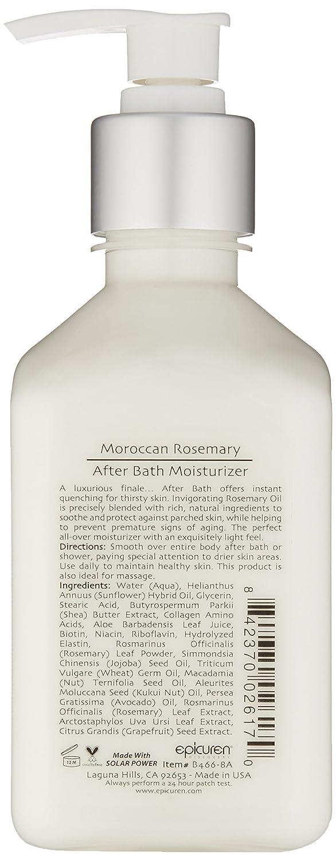 Amazon.com: epicuren después de baño Moisturizer – marroquí ...