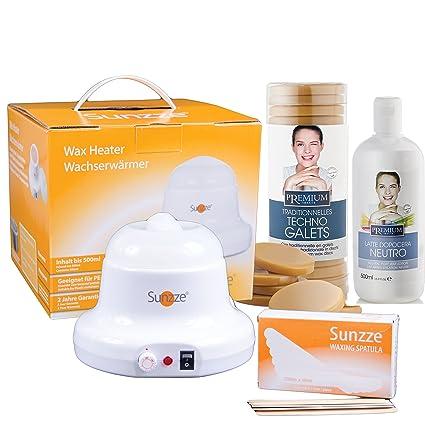 sunzze Premium Waxing Juego para el cabello eent remota en Íntima ...