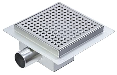 200mm Stainless Steel Square Wetroom Drainage System   Shower Drain
