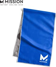 Mission Original Cooling Towel- Evaporative Cool Technology, Cools Instantly When Wet, UPF 50 Sun Protection, for Sports, Yo