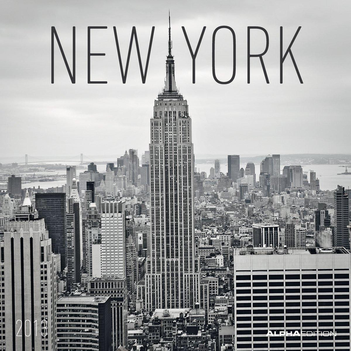 New York, Broschürenkalender 2013