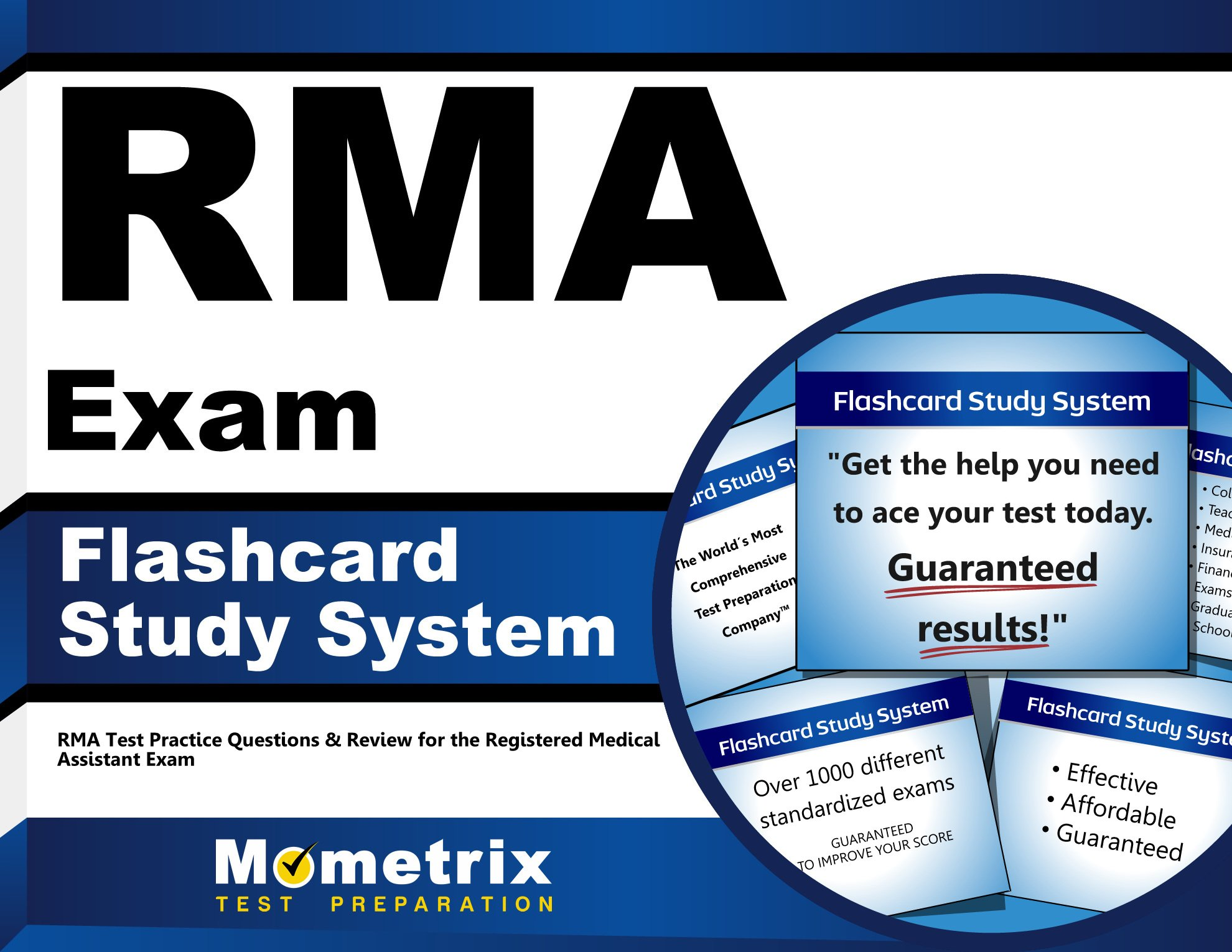 RMA Exam Flashcard Study System: RMA Test Practice Questions ...