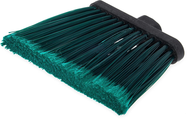 Carlisle 3686703 Duo-Sweep Flagged Angle Broom Head, 12 Width, Black (Pack of 12) 12 Width Carlisle FoodService Products