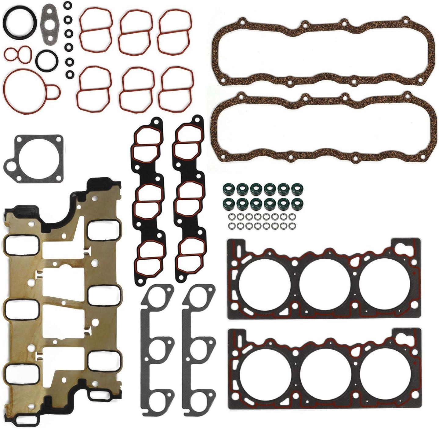 HS9081PT-1 Engine Cylinder Head Gasket Set For Ford /& Mazda V6-4.0L NEW