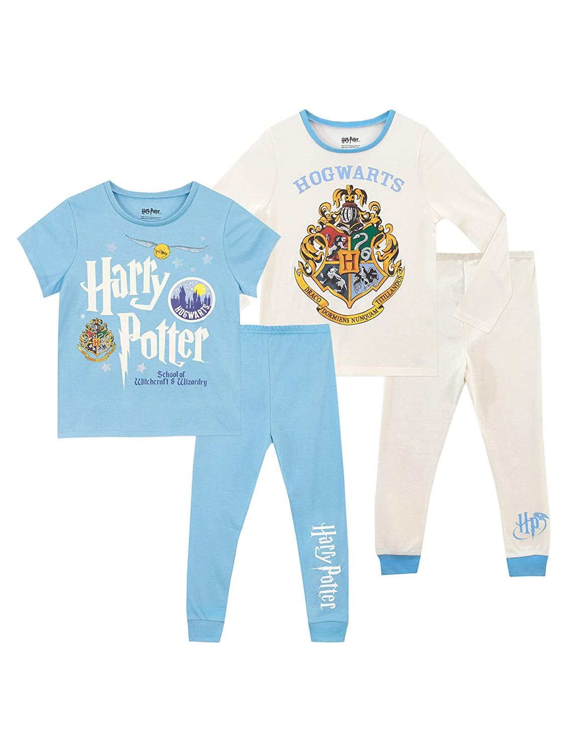 Harry Potter Girls' Hogwarts Pajamas 2 Pack
