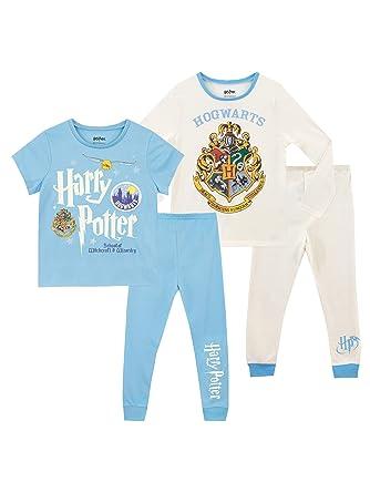 Harry Potter Jungen Schlafanzug Packung mit 2
