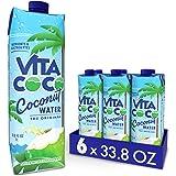 Vita Coco Coconut Water, Pure Original, Refreshing Coconut Taste, Natural Electrolytes, Vital Nutrients, 33.8 Oz (Pack…