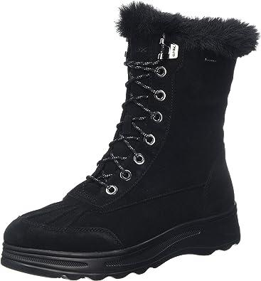 Geox D HOSMOS B ABX B, Botas de Nieve para Mujer