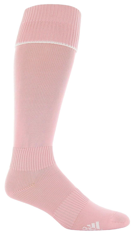 5f61fe487 Amazon.com : adidas Metro II Soccer Sock, Diva/White, Medium : Clothing