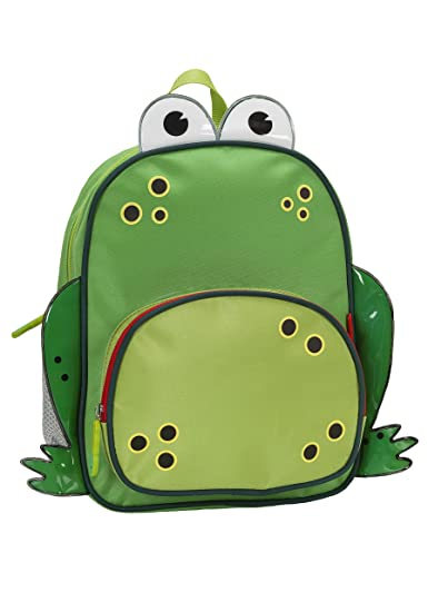 Rockland Jr. My First Backpack, Frog, One Size