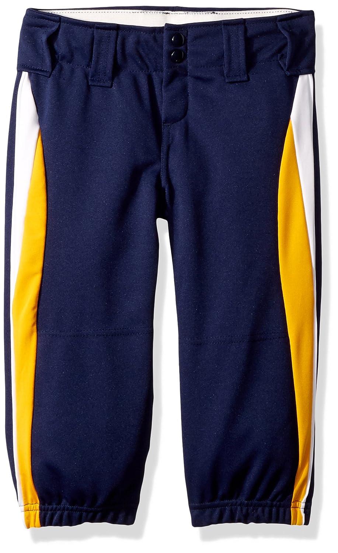 Augusta Sportswear Girls ' Cometソフトボールパンツ B00HJTLO0U Medium|ネイビー/ゴールド/ホワイト ネイビー/ゴールド/ホワイト Medium