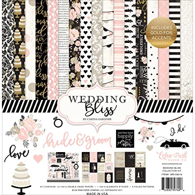 Echo Park Paper Company Mariage Bliss Collection Kit