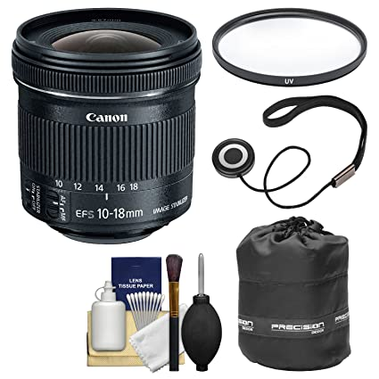 e0ca4c7ac4685 Amazon.com   Canon EF-S 10-18mm f 4.5-5.6 is STM Zoom Lens with ...