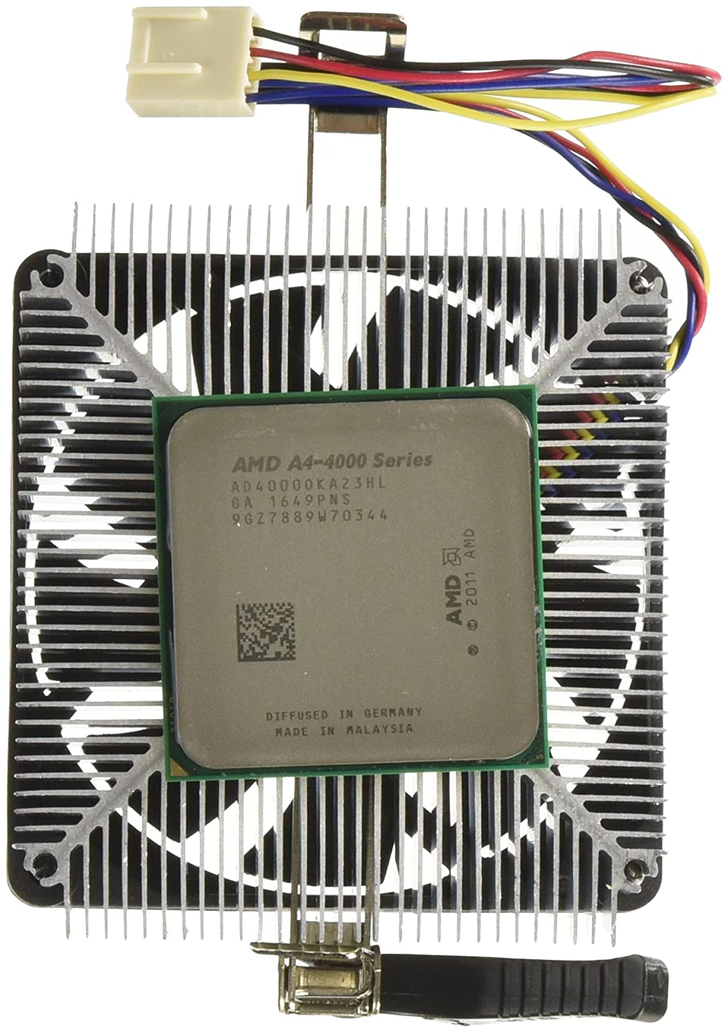 AMD A4-4000 Dual Core Accelerated Processing Unit (3 0GHz, 1MB, Socket FM2,  65W, AD4000OKHLBOX, Virtualization Technology)