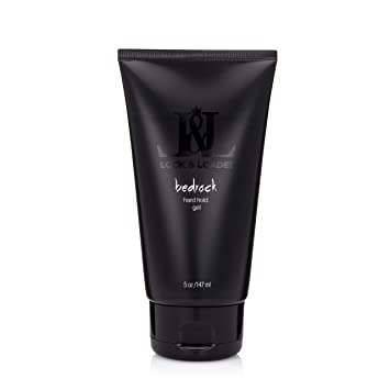 Amazon Com Bedrock Hard Hold Gel 5 Oz Strong Hold Gel For Men Mens Hair Products Professional Salon Hair Styling Product Hair Gel Beauty