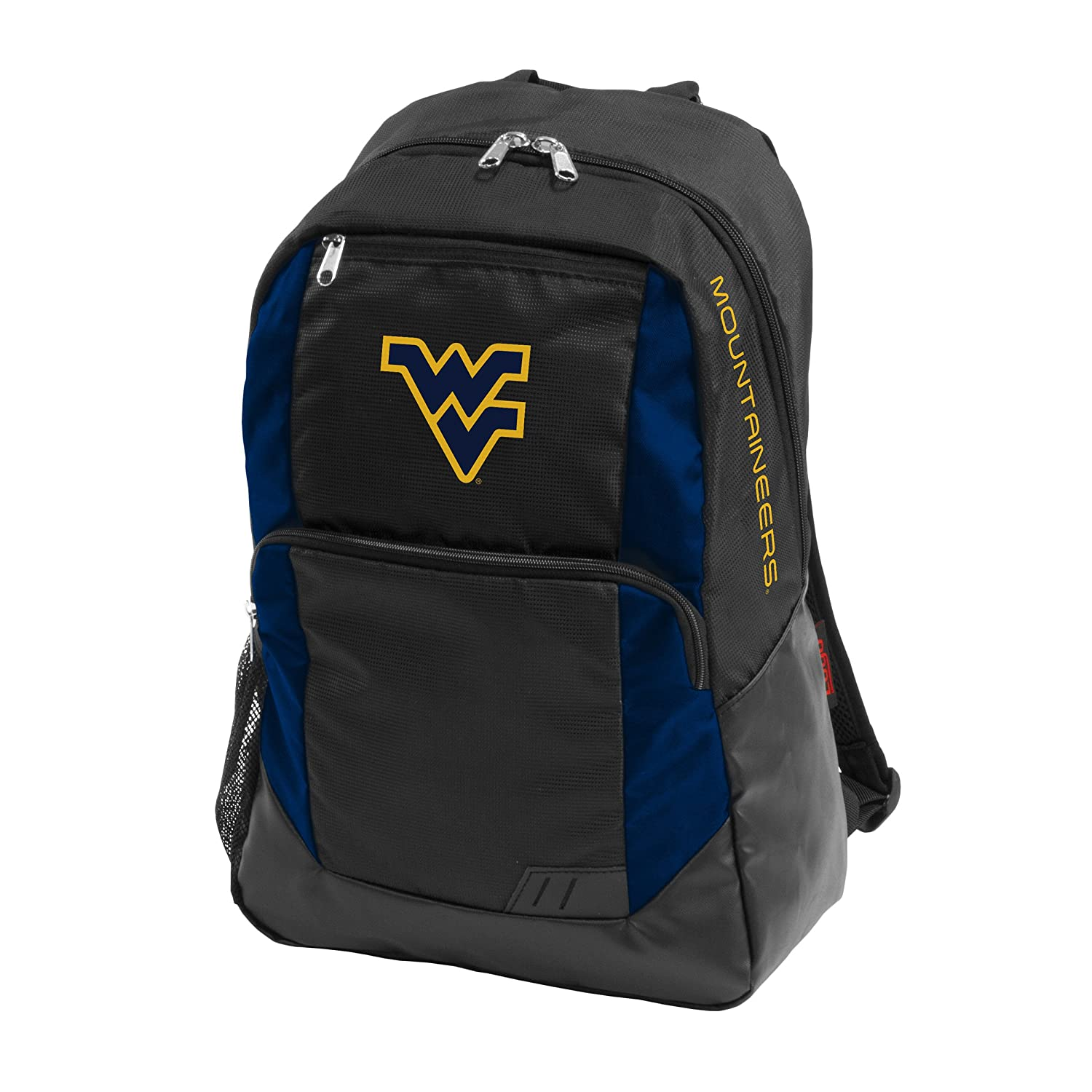 NCAA Closerバックパックbyロゴブランド West Virginia