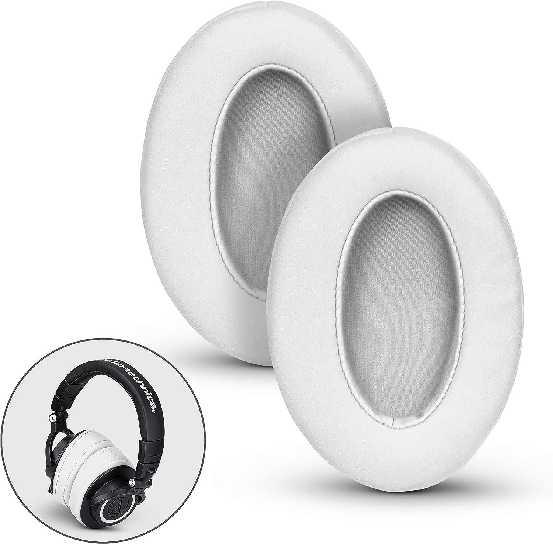 Blanc Brainwavz Coussinets angulaires pour Casques en Mousse /à m/émoire de Forme pour Casque Audio