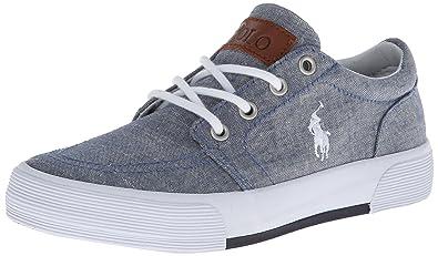 Polo Ralph Lauren Kids Faxon II Sneaker (Little Kid/Big Kid),Blue