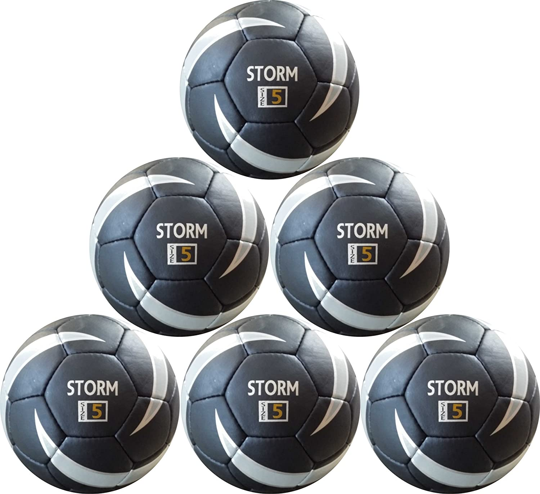 Storm balón de fútbol - 6 bolas unidades - sintética piel ...