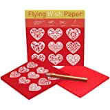 Flying Wish Paper 7 x 7 GIVE THANKS for Your Blessings REFLECTIONS PRAYER Large Kits