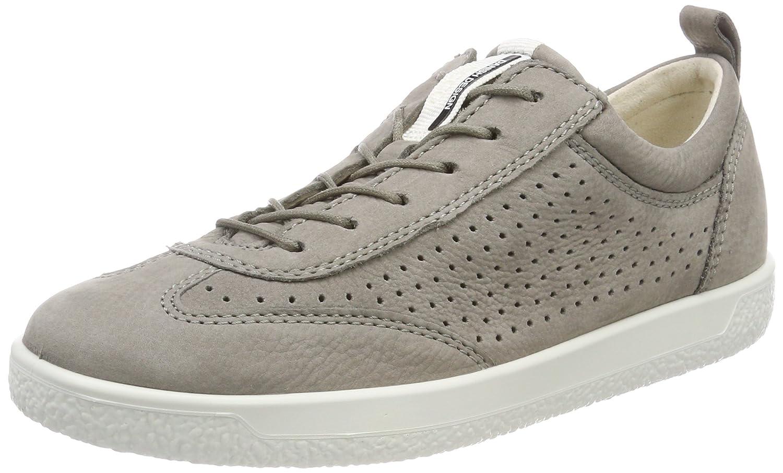 Ecco Soft 1, Zapatillas para Mujer 42 EU|Gris (Warm Grey)