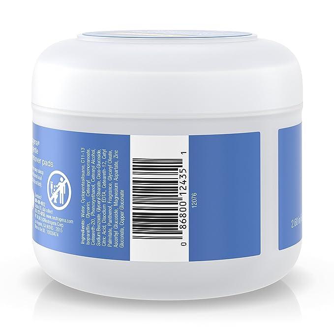 Neutrogena Extra Gentle Eye Makeup Remover Pads, Sensitive Skin 30 Count: Amazon.es: Salud y cuidado personal